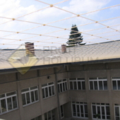 A413 Síť proti holubům vodorovná átrium - protiholubum.cz