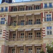 A511 Síť proti holubům Karlovy Vary Quisisana Palace - protiholubum.cz