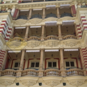 A516 Sítě proti holubům Karlovy Vary Quisisana Palace - protiholubum.cz