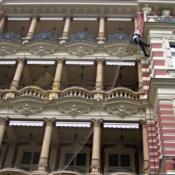A519 Sítě proti holubům Karlovy Vary Quisisana Palace - protiholubum.cz
