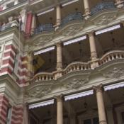 A520 Sítě proti holubům Karlovy Vary Quisisana Palace - protiholubum.cz